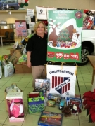 Carol Aljet - USMC Toys For Tots - Ongoing Chapter project.
