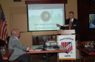 November 2015 Chapter Meeting - Speaker Will Groom, West Point Class of 1974